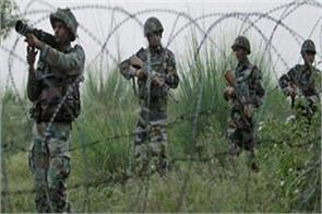 pakistani army shelling on forward areas in poonch in jammu