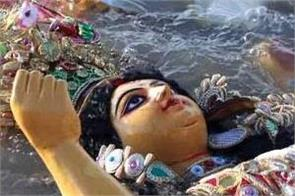 congress ask is worship and idol immersion a crime in bihar