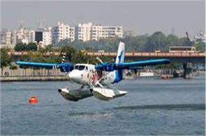 spicejet will run seaplanes between sabarmati riverfront statue of unity