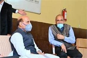 rajnath singh reaches manali prime minister will come on saturday