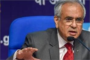 niti aayog deputy chairman s statement said india s growth rate