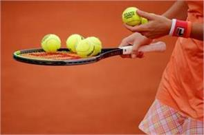 tennis player infected with covid 19 removed from
