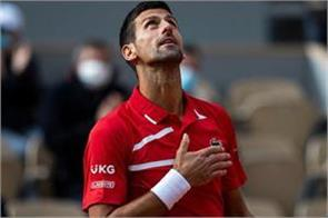 djokovic s reign in world rankings nadal in second place