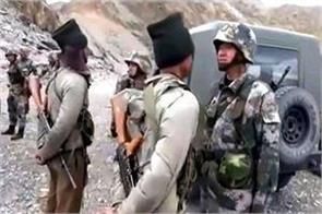 chinese soldier caught in ladakh will not be released for  next few days