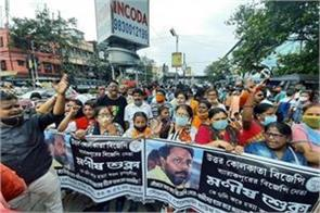 barrackpore closed in protest against bjp leader s murder