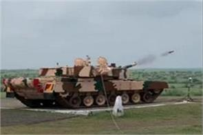 successful test of laser guided anti tank missile from arjun tank