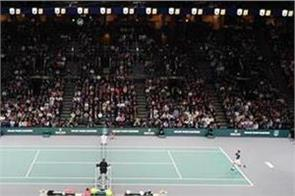 paris masters to be played without audience