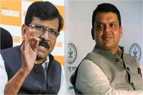 shiv sena s stance on devendra fadnavis being found corona infected