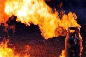 gas cylinder blast