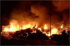 tamil nadu fire in a firecracker factory in madurai 5 killed and 3 injured