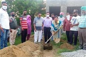 nimisha mehta started construction work