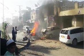 pakistan bomb blast in a city of balochistan four killed seven injured