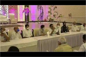 important meeting of congress on baroda by election