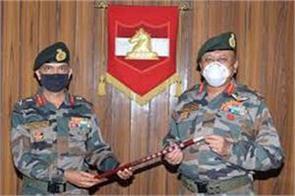 mv suchindra kumar commanded 16th corps based in jammu