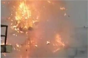 incident occurred during ravan dahan blast occurred