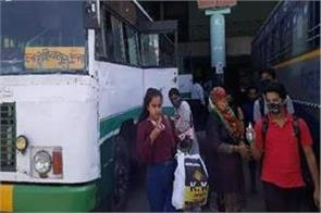 inter state bus service start between himachal and punjab after 214 days