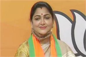 no freedom to speak in congress khushboo sundar