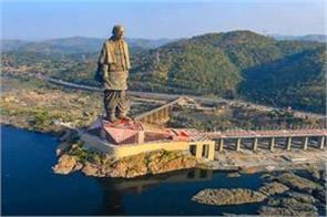 covid 19 statue of unity reopened to tourists in gujarat