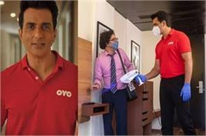 oyo made sonu sood the brand ambassador for its cleanliness campaign
