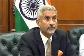peace disrupted by lac affecting india china relations jaishankar