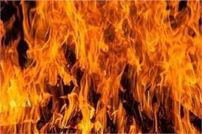 35 houses burnt to ashes due to fire in assam no casualties