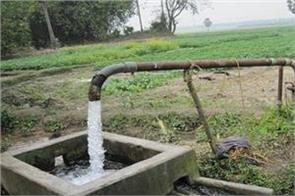 the problem of  underground water  in front of punjab s industry