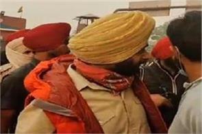 now captain protest raj ghat delhi