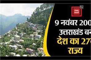establishment day of uttarakhand today