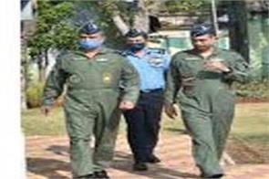 ariforce western commander vivist jammu airbase