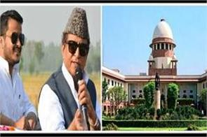 supreme court bans the order of by election for swar seat