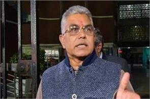 bjp president dilip ghosh s convoy attacked in west bengal