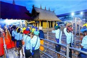 39 people have come to corona so far in sabarimala