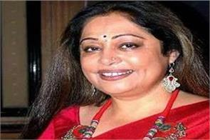chandigarh mp and famous actress kiran kher admitted to hospital
