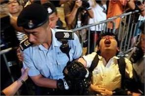 7 hong kong pro democracy activists arrested joshua wong