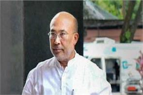 manipur chief minister n biren singh corona positive