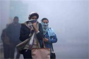 the coldest morning of november in the last 14 years in delhi