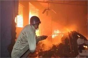 tamil nadu collapsed building while extinguishing fire in madurai