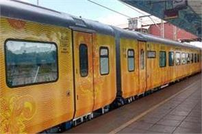 the country s first private train tejas express will be closed again