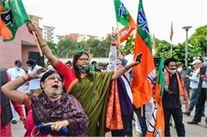 bjp won 40 seats in by elections gujarat madhya pradesh to gujarat