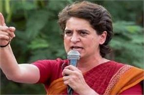 wrong to stop farmers by digging water showers and roads priyanka