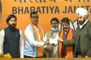 tmc mla mihir goswami joined bjp resigned from party today