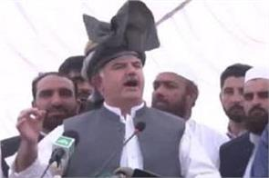 chief minister mahmud khan s allegation opposition opposing to avoid corruption