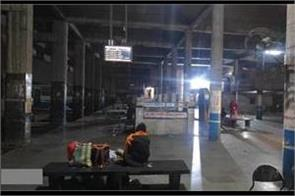the bus station in haryana where the darkness remains