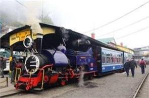 railways will resume toy train joy ride service from december 25