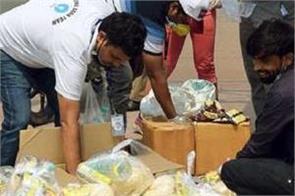 hindu american community donates over 1 3 lakh kg food to needy during diwali