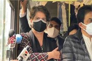 kisan andolan congress leader including priyanka gandhi released