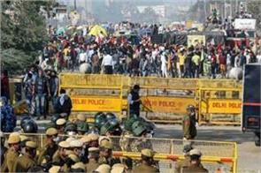 kisan andolan delhi traffic police advisory