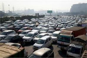 farmer movement delhi traffic police issued advisory