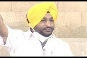 big statement of ravneet bittu said  kejriwal conspired against farmers