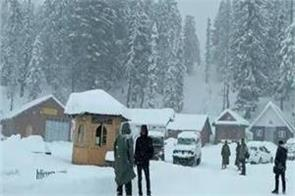 temperatures below zero in many places in kashmir